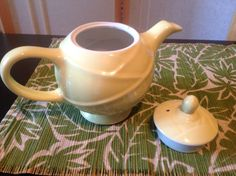 SPRING SALE Vintage Hall Teapot by PBTimelessTreasures on Etsy