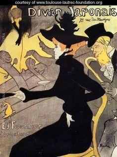 Japanese divan - Henri De Toulouse-Lautrec - www.toulouse-lautrec-foundation.org