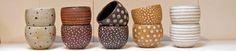 Eva Brandt er en fantastik keramiker bosiddende i Rønne på Bornholm. Hendes keramik er små kunstværker!