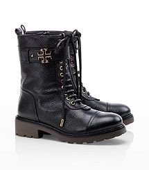Toby Mid Calf Boot. Since when did tory burch go rock? 500 smackaroos for these bad boys.