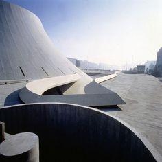 Niemeyer (Foto: Michel Moch / cortesia Fundação Oscar Niemeyer)