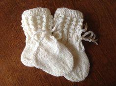 Vauvalle villasukat.