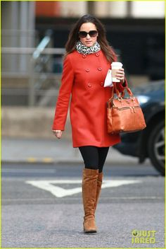 Pippa Middleton: Ravishing in Red!