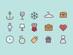 You Guessed It Dribbble! Even More Icons! by Alex Miller