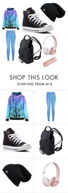 """""""Eh..."""" by cookie-monster555 on Polyvore featuring New Look, Converse and Beats by Dr. Dre"""