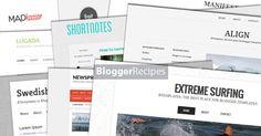 Clean & Minimalist Blogger Templates