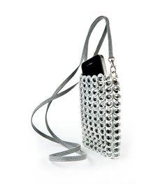 Pop-Top Handbags, Pull-tab Purses, Pull-tab Accessories from Escama Studio® Pop Tab Purse, Mini Purse, Can Tab Crafts, Tape Crafts, Pop Can Tabs, Soda Tabs, Sacs Design, Pop Cans, Cell Phone Purse