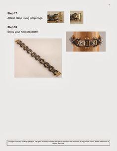 nj conçoit: Bracelet Stud
