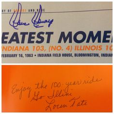 A Century of Orange and Blue (1 of 2): Dave Downey (in-person), Loren Tate (in-person, gift).