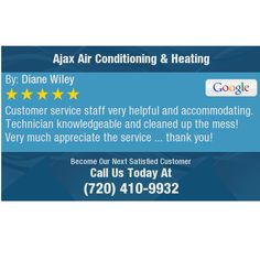 Customer service staff very helpful and accommodating. Technician knowledgeable and...