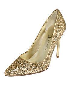 Ivanka Trump's Kaydena pumps. Glitter!