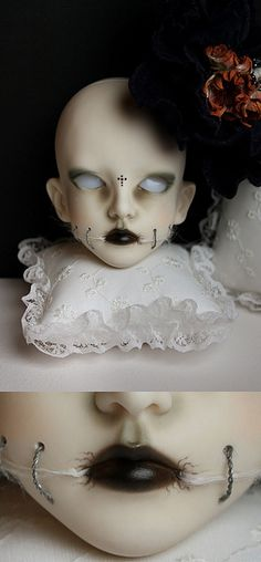 White Spider act #2 - Dollstown new Triste by jade.citronrouge, via Flickr