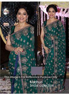 Teal Raw Silk Designer Sarees  #party wear #wedding wear #bollywood saree