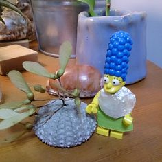 Treasure from the sea. #Lego #minifigure. #Simpson #shell #treasure