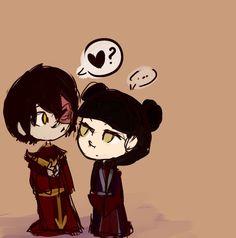 Zuko and Mai from my childhood :)