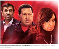 BOMBA! Chavistas confirmam conspiração entre o Irã e Cristina Kirchner.   http://veja.abril.com.br/noticia/mundo/chavistas-confirmam-conspiracao-denunciada-por-nisman…