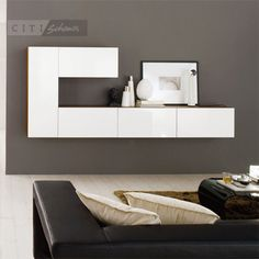 Modular Wall Units Calligaris Inbox Hanging Cabinet 41