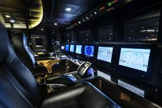 """The galley onboard the incredible private superyacht """"Zenith"""". Designed by ID Studios Pyrmont"""