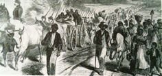 Emancipation Day, TX pictures | ANOTHER MARCH: Negroes Freed By the Emancipation Proclamation Enter ...