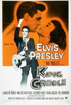 Directed by Michael Curtiz. With Elvis Presley, Carolyn Jones, Walter Matthau, Dolores Hart. A rebellious young man takes a job as a nightclub singer to make ends meet, attracting the attention of a local crime boss. Carolyn Jones, Musica Elvis Presley, Elvis Presley Movies, Walter Matthau, Classic Movie Posters, Classic Movies, Classic Cartoons, Old Movies, Vintage Movies
