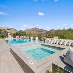 Scottsdale Homes For Sale, Balcony Deck, Traditional Style Homes, Built In Bbq, Dream Home Design, Resort Style, Property Listing, Jacuzzi, Exterior Design