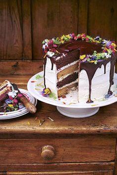Tarta gigante de cumpleaños, de Jaime Oliver