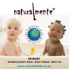 Naturalmente - The Bio Baby Range available from Allure Cosmetics. #natural #baby #babyproducts #onlineshopping