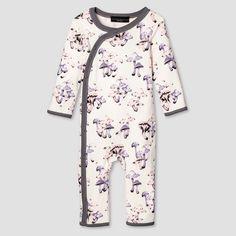 Baby Mushroom Print Long Sleeve Bodysuit - Victoria Beckham for Target : Target
