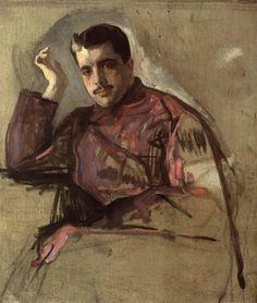 Валентин Серов. Портрет Сергея Дягилева. 1904