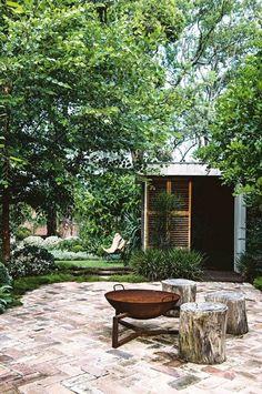 outdoor living: a multi-purpose garden – rustic home exterior