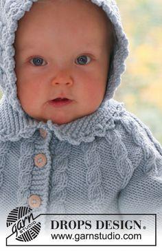 Cable Princess / DROPS Baby 17-1 - Gratis strikkeoppskrifter fra DROPS Design