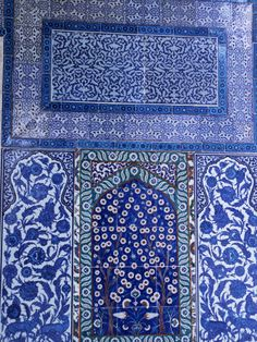 RePinned from Theresa Haas For the Home 3 weeks ago via pinmarklet. Close-Up of Mosaic, Topkapi Palace, Istanbul, Turkey.