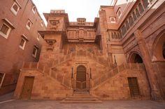 The impressive Junagarh Fort in Rajasthan.