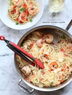 Fresh tomatoes, garlic and basil bring summertime flavors to a classic dinner of Shrimp Scampi Pasta. Fresh tomatoes, garlic and basil. Three ingredients that magically transform into very special recipes when a few simple additions are made. Add toasted bread and you have Bruschetta. Add mozzarella and you've just made a classic caprese. This recipe [...]
