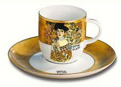 Klimt. Adele Bloch Bauer. Taza de café ! Genial !