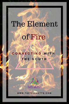 Here's an article about the element of fire, the first of a series of 4 articles on the 4 elements. The element of fire is important as it is related to passion, creativity and activity. This article also features a basic candle ritual. Click to learn more!