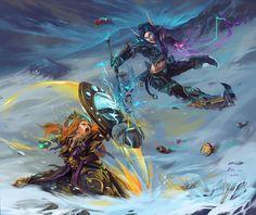 world of warcraft art - Pesquisa Google
