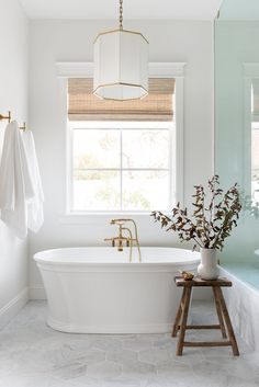 AZ Homestead Project: The Kitchen & Primary Suite Modern Boho Bathroom, Beach House Bathroom, Beautiful Bathrooms, Master Bathroom, Interior Trim, Bathroom Interior Design, Bathroom Mirror Inspiration, Bathroom Inspo, Bathroom Goals