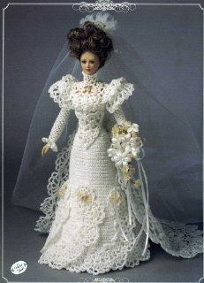 """1900 Bridal Gown (Annie's Calendar Bed Doll Society, 7104) by Annie Potter. $7.00. Publisher: Annie Potter (1994). Publication: 1994. Fits 11 1/2"""" fashion doll.                                                         Show more                               Show less"""