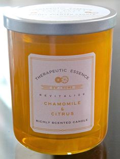 DW Home Candle New Therapeutic Revitalize Chamomile Citrus 15 485oz Soy 2 Wick | eBay
