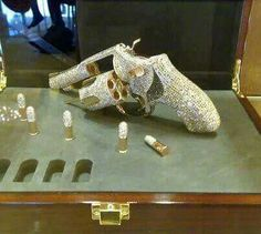 Who says girls can't like guns AND diamonds?