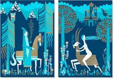 Medieval illustration by Stuart Kolakovic Art And Illustration, Interesting Drawings, Funny Photography, Tapestry Design, Print Artist, Art Sketches, Folk Art, Graphic Art, Artwork