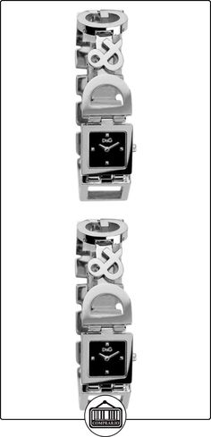 D&G 3719250892 - Reloj de Señora movimiento de cuarzo con brazalete metálico  ✿ Relojes para mujer - (Gama media/alta) ✿