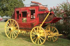 A beautifully restored Wells Fargo Stagecoach was displayed by the Santa Fe Depot at Alvin's Hometown Festival on Labor Day weekend. Toy Wagon, Horse Wagon, Horse Drawn Wagon, Wells Fargo Stagecoach, Old Wagons, Covered Wagon, The Lone Ranger, Chuck Wagon, Gypsy Wagon