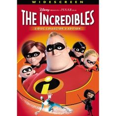 The Incredibles (Two-Disc Collector's Edition) --- http://www.pinterest.com.yolo.bz/g5