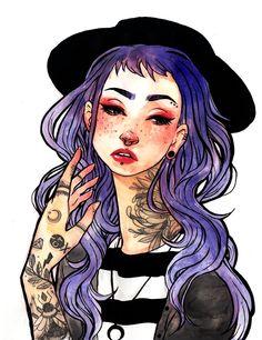 Indigo Girl by Jacquelin de Leon Facebook//Instagram//Store // Patreon //Youtube