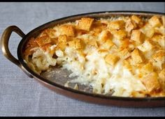 Martha Stewart's Mac and cheese recipe