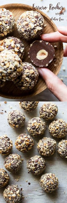 A while ago a friend challenged me to make a vegan version of Ferrero Rocher truffles. I am a big fan of both chocolate and hazelnuts so my hand really didn't need much twisting. As it turned out, these were quite simple to make and they went down a storm with everybody. Gluten free, homemade, and a great gift!