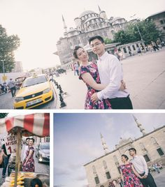 pre wedding photo session - istanbul streets