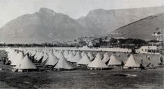 Anglo Boer War - prison of war camp Greenpoint Cape town War Novels, The Settlers, Lest We Forget, African History, Military History, Country Of Origin, Back In The Day, Cape Town, Historical Photos